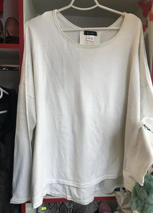 Белая кофта h&m