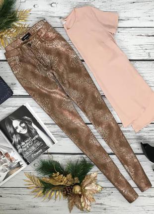 Стильные джинсы с галаграфическим эффектом  pn180293  geisha jeans