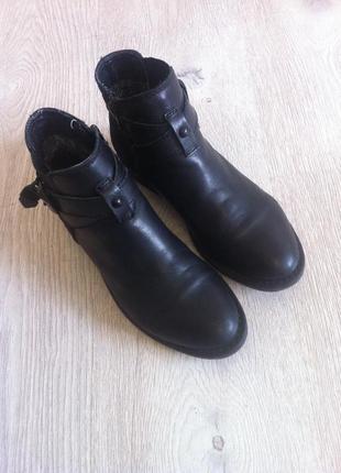 Кожаные ботинки челси демисезонные 36 размер