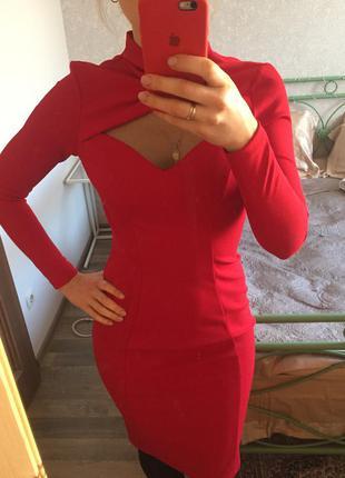 Красное платье cardo. шикарное!