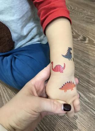 Татуировки переводные детские