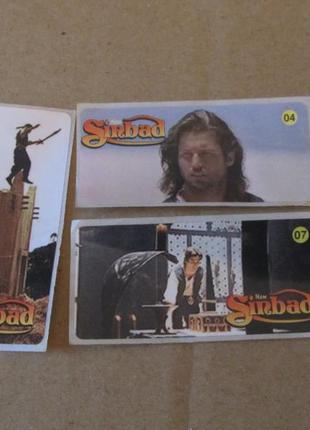 Коллекция наклеек new sinbad
