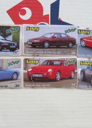 Коллекция наклеек saray surf cарай cерф автомобили
