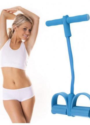 Тренажер для фитнеса pull reducer. цвет: синий