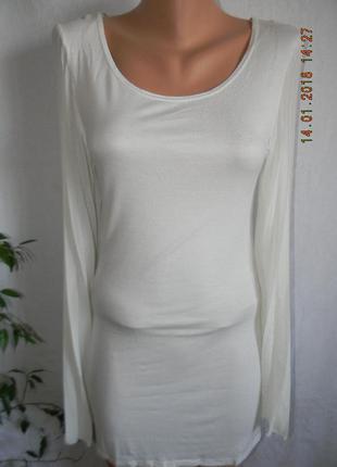 Белое новое платье-туника ayanapa
