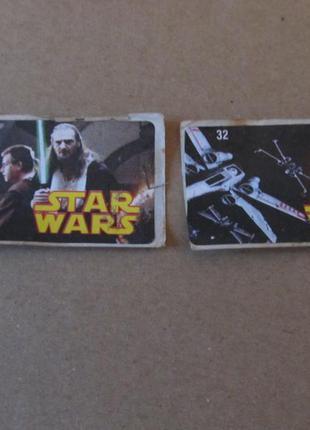 Коллекция наклеек star wars