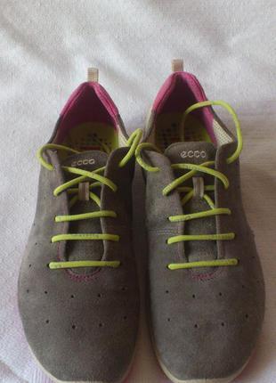 Кроссовки женские замшевые кросівки жіночі замшеві ecco biom lite (802003139675) р.40,5🇮🇩