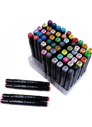 Набор двусторонних маркеров - 36 штук