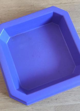 Пеcочница toyko фиолетовая, 33 х 33 см