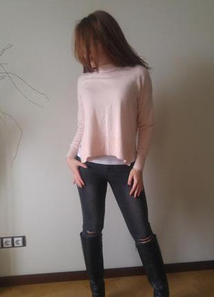 Нежно розовая кофточка h&m