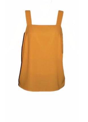 Базовая майка топ f&f, блуза без рукавов