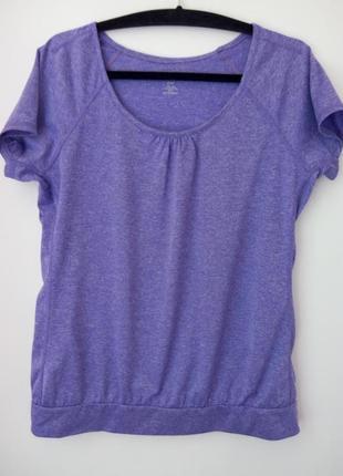 Стильная спортивная футболочка,бренда h&m,подойдет на 46,48 р.
