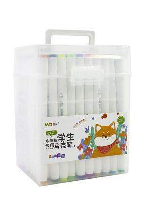 Набор маркеров для рисования 80 цветов