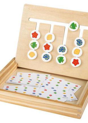 Деревянный слайд-лабиринт playtive поддерживает воображение и способность координировать и развивать