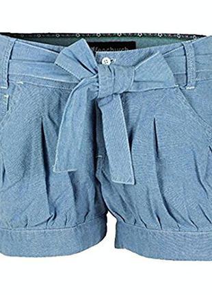 Отличные новые шорты из тоненького денима от от fenchurch, p. m