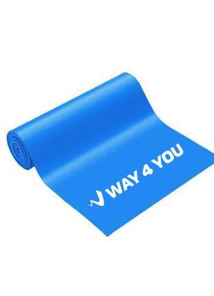 Эластичная лента для фитнеса way4you - heavy (blue)