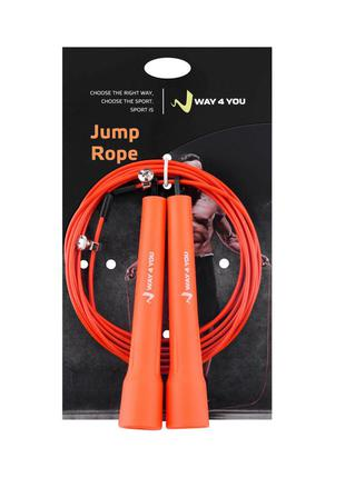 Cкакалка ultra speed cable rope 2 [w40035-or]