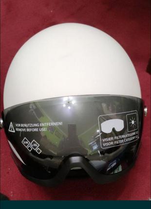 Гірськолижний шолом crivit pro для сноуборду і гірських лиж.