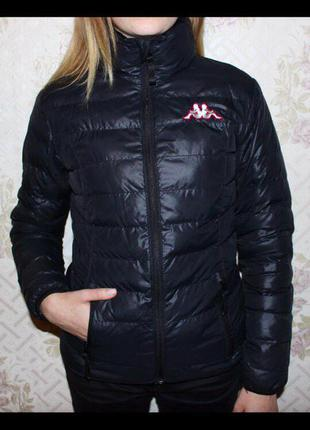 Крутейшая дутая курточка kappa🌸
