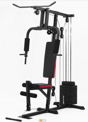 Interatletia gym мультистанция. силова. тренажёр для мышц спины, груди, руки