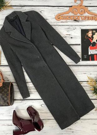 Классическое пальто прямого фасона из драповой ткани  ow180271  zara