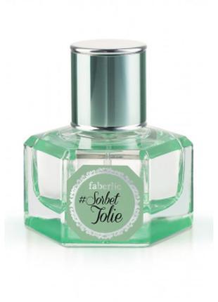 Sale парфюмерная вода для женщин #sorbet jolie + подарунок