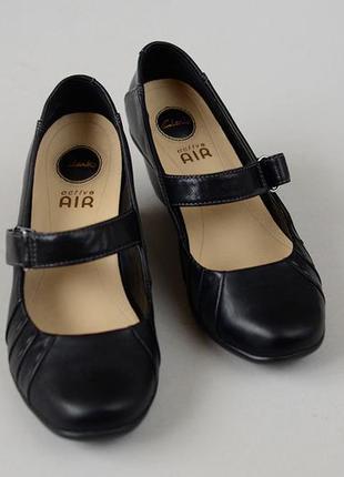 Туфли кожаные clarks