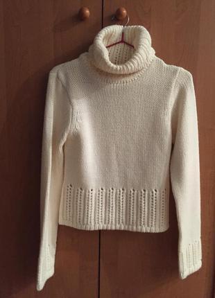 Вязаный тёплый свитер h&m