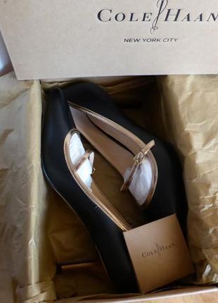 Эксклюзив! невероятно изысканные туфли лодочки cole haan, размер 38-38,5