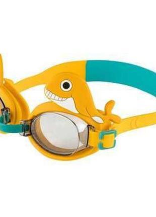 Дитячі окуляри для плавання з декоративними рибками та русалочками crivit.