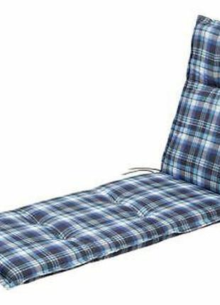 Подушка для шезлонга gardeline 170x50x8см