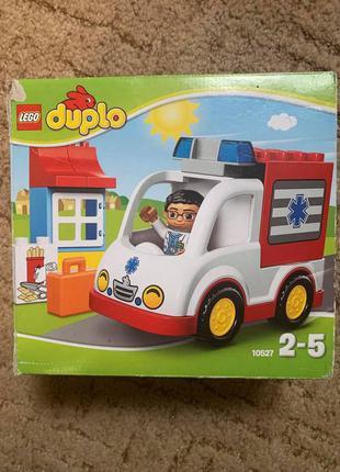 Лего lego duplo 10527 скорая помощь