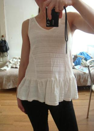 House стильная блузка майка размер xs
