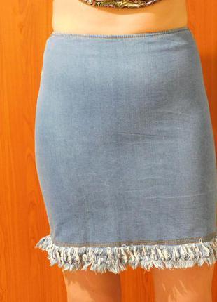Юбка под джинс (100% коттон)