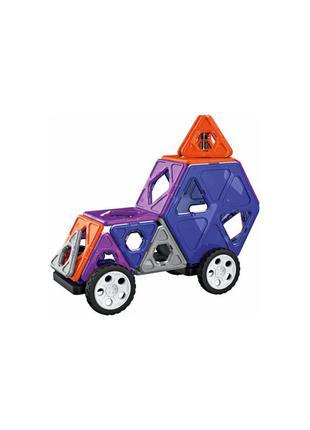 Магнитный конструктор автомобиль playtive - разноцветный li-550391
