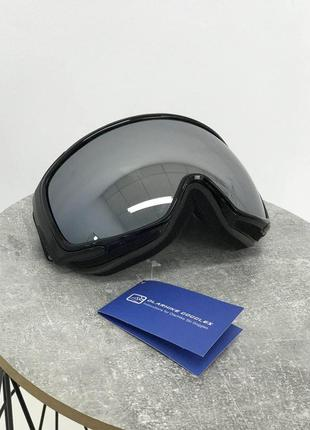 Горнолыжная маска черная olarhike гірнолижна чорна маска