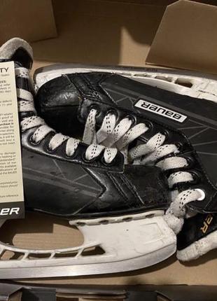 Коньки хоккейные bauer supreme s150 р 38,5 ст 24,3 см