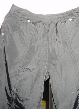 Продам женские очень теплые зимние брюки плащевка на флисе .2 фото