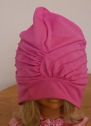 Шапка-шапочка для плавання на розмір 54-64 висота -24 fashy