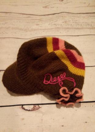 Стильное кепи -шапка,фуражка diesel.осень-зима!