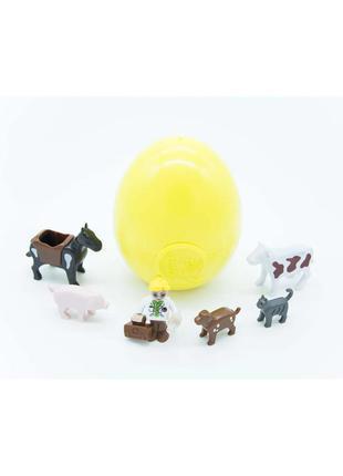 Игровая фигура ветеринар и животные playtive - желтый-разноцветный li-550822