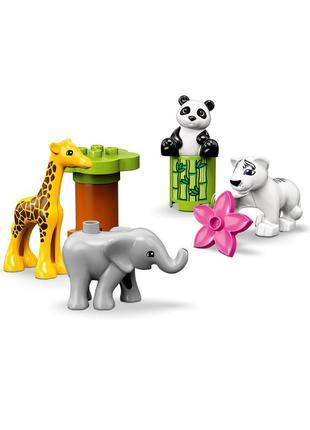 Детский конструктор дети животных duplo 10904 lego - разноцветный li-550384