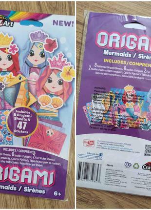 Творческий набор crazart оригами+стикеры