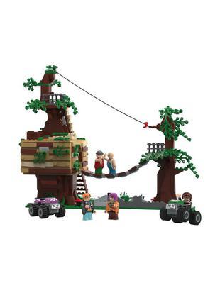 Детский конструктор убежище грабителей playtive - разноцветный li-550362