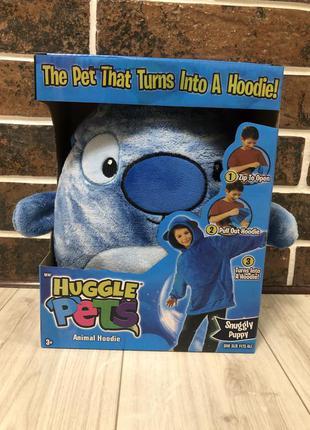 Детский худи-игрушка huggle pets 3 in 1.подушка.