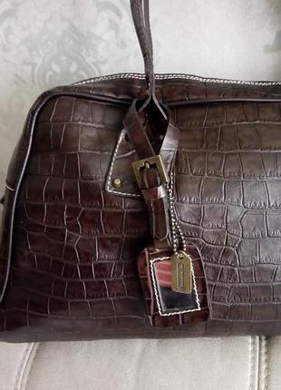 Большая кожаная сумка robert pietri