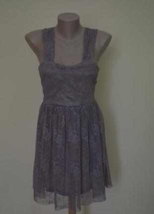 Легкое воздушное платье из гипюра