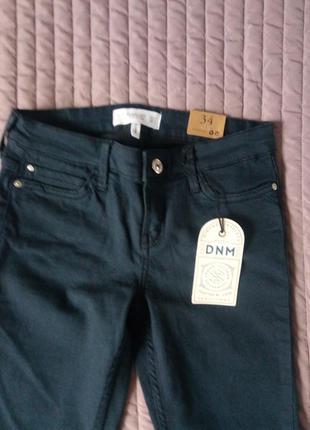 Красивые и удобные джинсы mango, р.34 (xs) темно-синего цвет