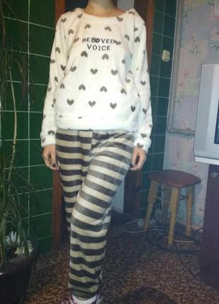 Пижама с фланели