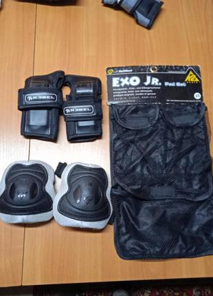 Защитные щитки на колена и руки,размер xs